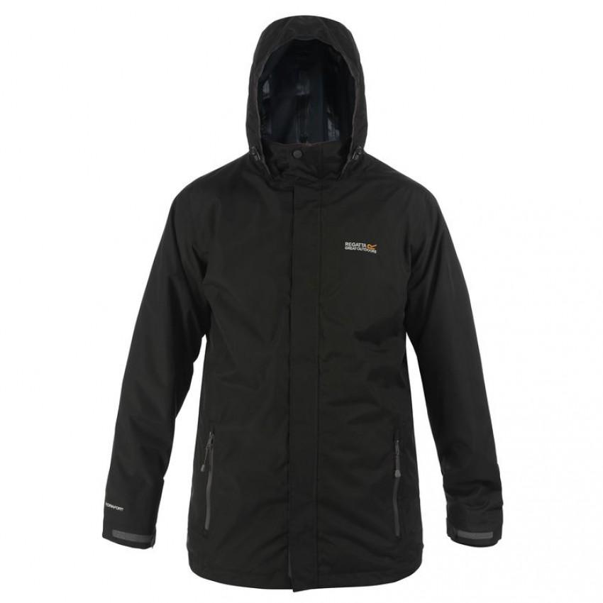Regatta Telmar Black Waterproof 3-in-1 Jacket 1