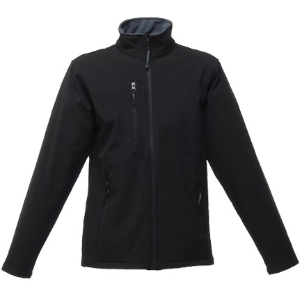 Regatta Void Black Softshell Jacket 1