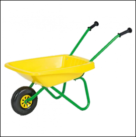 Rolly Toys Kids Metal & Plastic Wheelbarrow 1