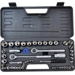 "Rolson 52pc 1/4""&1/2""Drive Socket Set"