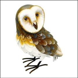 Rolson Barn Owl Garden Ornament 1