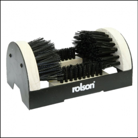 Rolson Black-White Boot & Shoe Scrubber 1