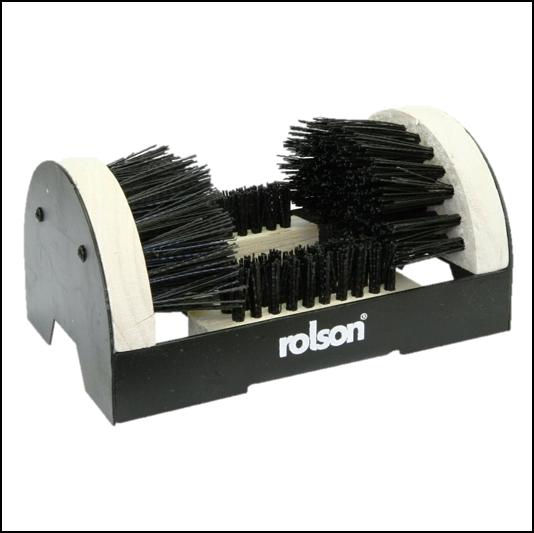 Rolson Black-White Boot & Shoe Scrubber 1