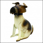 Rolson Bulldog Seated Garden Ornament
