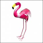 Rolson Flamingo Garden Ornament 1