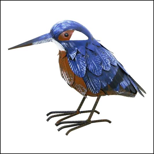 Rolson Kingfisher Garden Ornament 1