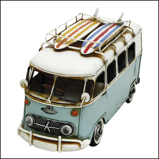 Rolson Model Camper Van Garden Ornament 1