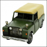 Rolson Model Landrover Garden Ornament