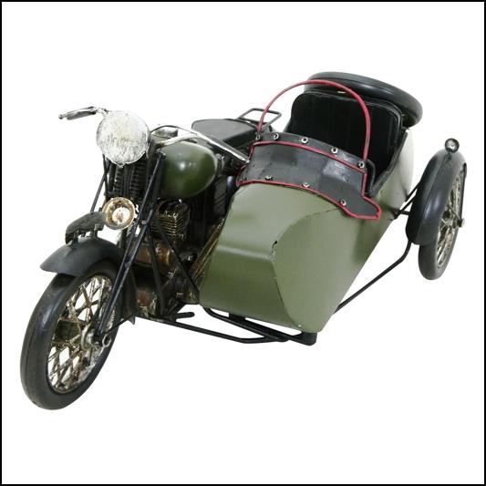 Rolson Model Motorbike & Sidecar 1
