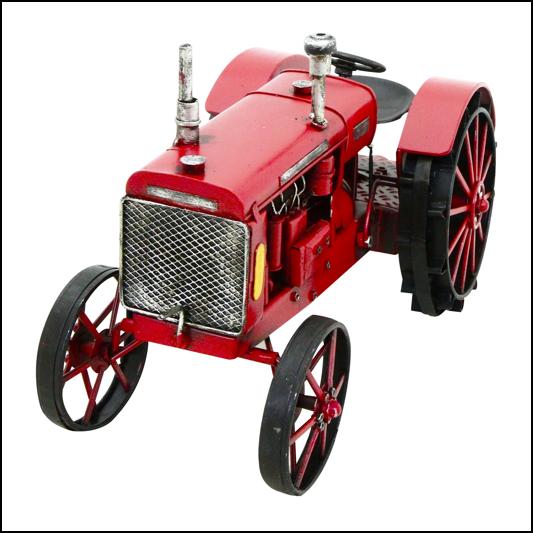 Rolson Model Tractor Garden Ornament 1