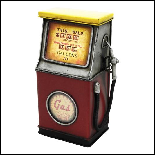 Rolson Model Metal Fuel Pump Money Box 1