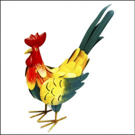 Rolson Small Cockerel Garden Ornament 1