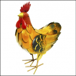 Rolson Small Hen Garden Ornament