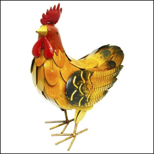 Rolson Small Hen Garden Ornament 1