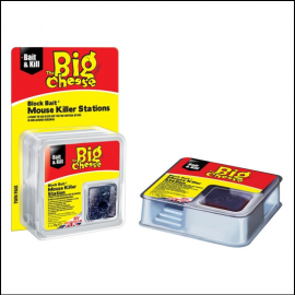 STV The Big Cheese All Weather Block Bair Mouse Killer Station 1