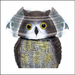 STV Bird Deterrent Wind Action Owl 2