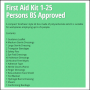 Scan 1-25 Persons First Aid Kit 2