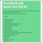 Scan GP Household and Burns First Aid Kit 2