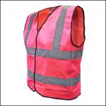 Scan Pink Hi-Vis Safety Waistcoat