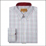 Schoffel Banbury Red-Green Check Shirt
