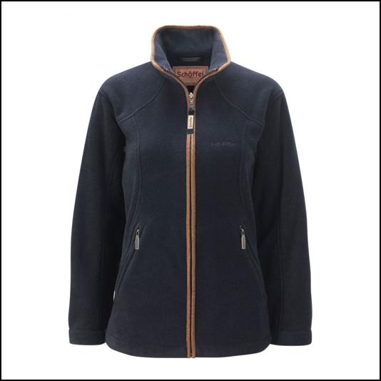 Schoffel Burley Ladies Fleece Jacket Navy 1