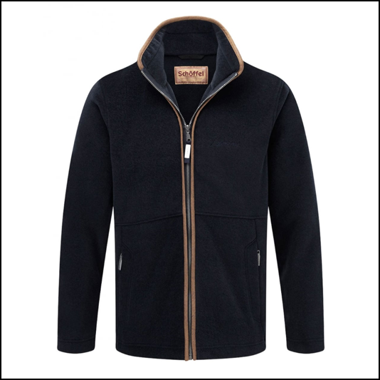 Schoffel Cottesmore Fleece Jacket Navy 1