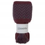 Schoffel Herringbone II Socks Mulberry-Aubergine-Forest 1