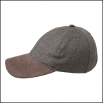 Schoffel Ladies Cavall Tweed Baseball Cap 1