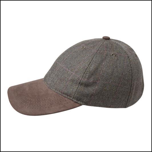 32f2ac27da9c6 Schoffel Ladies Tweed Baseball Cap | Ernest Doe Shop