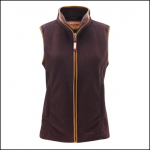 Schoffel Lyndon II Ladies Fleece Gilet Aubergine 1