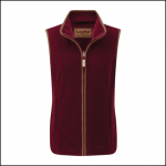 Schoffel Lyndon II Ladies Fleece Gilet Ruby 1