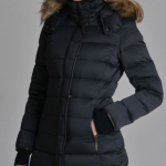 Schoffel Mayfair Ladies Navy Down Coat 3