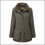 Schoffel Ptarmigan Ladies Cavall Tweed Shooting Coat