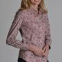 Schoffel Suffolk Fern Burgundy Cotton Shirt 2