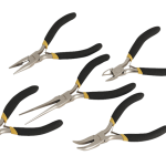 Sealey Mini Pliers Set 5pc Ni-Fe Finish