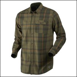 Seeland Conroy Duffle Green Check Shirt 1