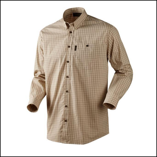 Seeland Nigel Shirt Bleached Check 1