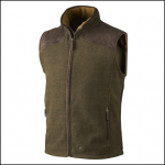 Seeland William II Pine Green Fleece Waistcoat 1