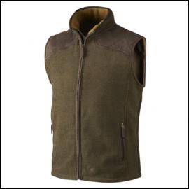 Seeland William II Pine Green Fleece Waistcoat 1