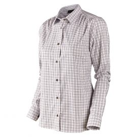 Seeland Preston Lady Shirt Merlot Check 1