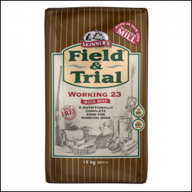 Skinner's Field & Trial Working 23 Dog Food 15kg