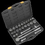 Socket Set 26pc 3/4Sq Drive 12pt DuoMetric