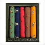 Soprano Country Themed Handkerchief Gift Box Set