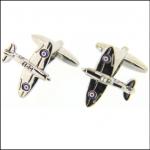Soprano Finely Detailed Spitfire Cufflinks