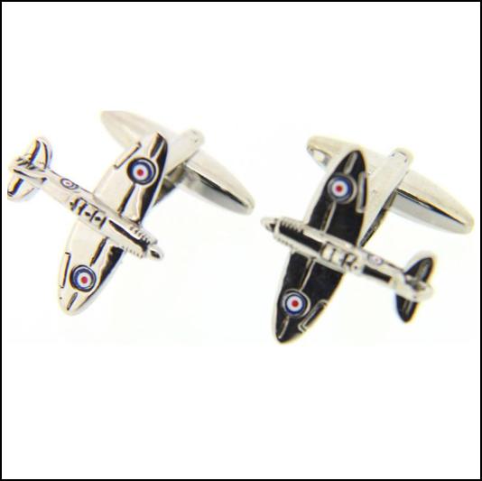 Soprano Finely Detailed Spitfire Cufflinks 1