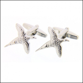 Soprano Flying Pheasant Country Cufflinks 1