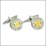 Soprano Gun Cartridge Country Cufflinks 1