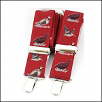 Soprano Country Birds Red Classic Braces