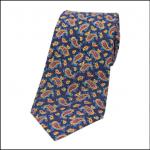 Soprano Vintage Paisley Navy Tie