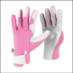 Spear & Jackson Ladies Pink Kew Gardening Gloves